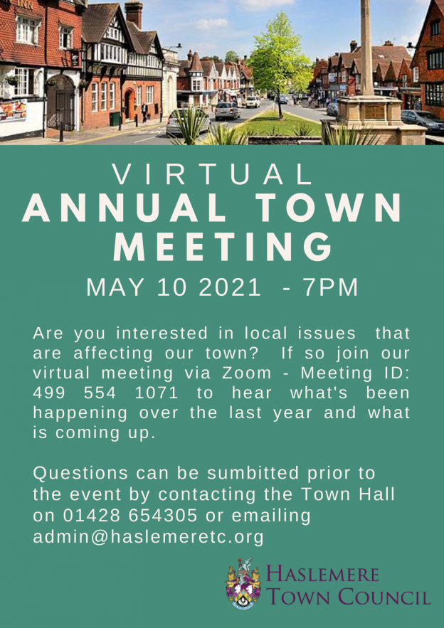 Annual Town Meeting -10th May 2021