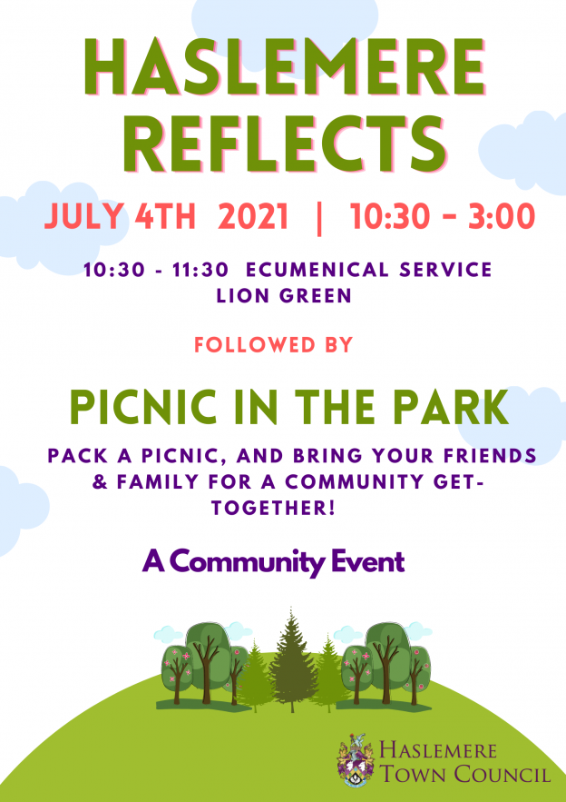 Haslemere Reflects – 4th July 2021