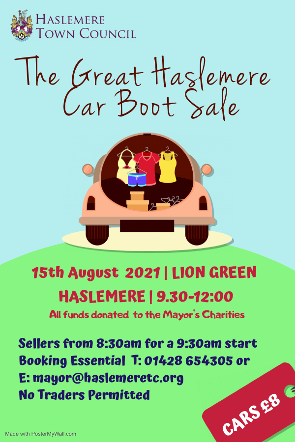The Great Haslemere Car Boot Sale