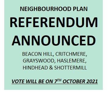 Neighbourhood Plan referendum announced